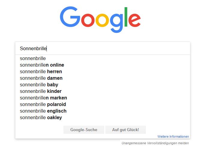 Keywords: der Schlüssel für Ihr Online Marketing