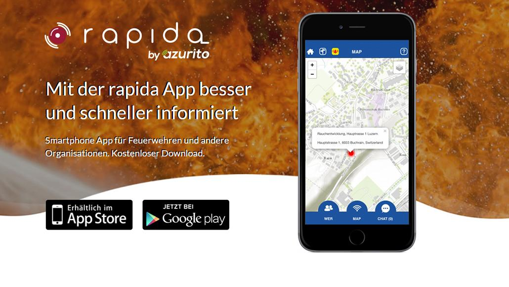 Inbound Marketing Rapida Smartphone App by Azurito AG