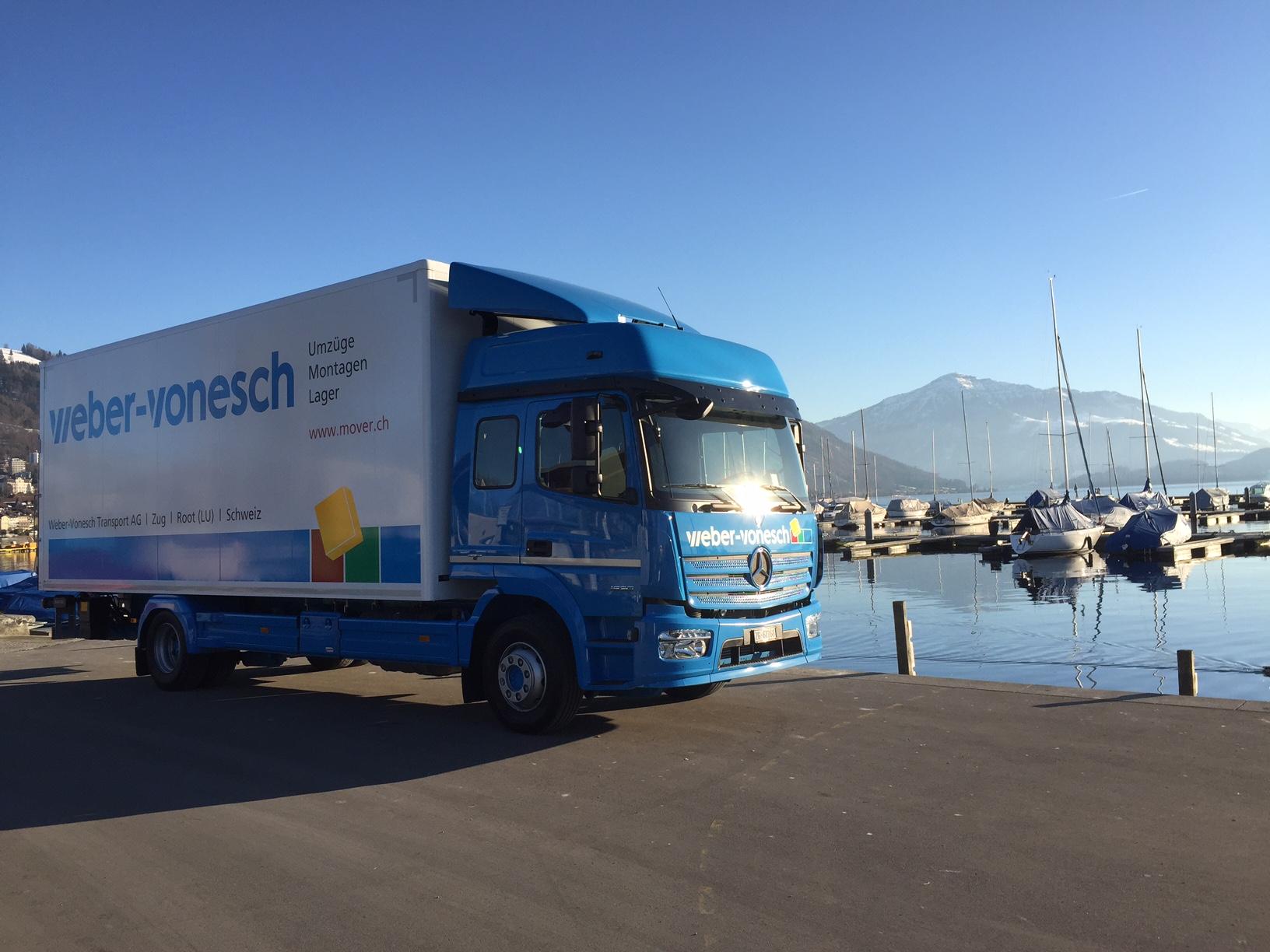 PRtools erstellt für das Transportunternehmen Weber-Vonesch einen neuen Webauftritt.