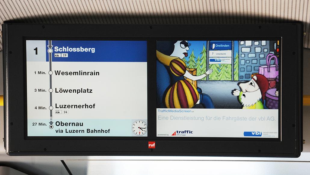 Content Formats Multimedia VBL Busordnung: Der Animationsfilm wird in einem Bus der Verkehrsbetriebe Luzern abgespielt. Die Verhaltensregeln werde mit bekannten Märchenfiguren kommuniziert. Die Story und das Konzept des Animationsfilmes wurde von der PRtools GmbH erstellet und realisert.